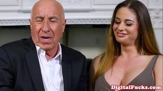 Gorgeous latin chick voyeur joins fuck