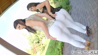 Ass traffic french chicks in anal gaping extravaganza