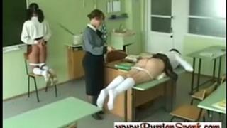Russian slaves 254 - hard torture for schoolgirls