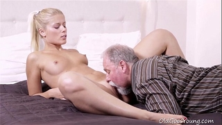 Old goes youthful - elena can't make no doubt of how valuable this old dude is at having sex