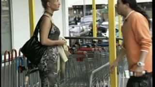 German black cock slut is picked up at store
