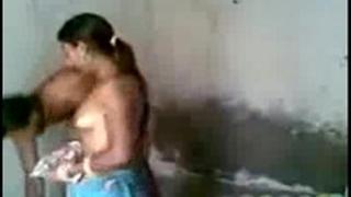 Rajasthan pair in bath sex