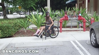 Bangbros - tiny kimberly costa in wheelchair receives drilled (bb13600)