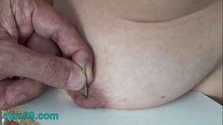 Extreme needle castigation sadomasochism and electrosex. nails and needles tortured